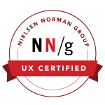 Norman Nielsen Group UX Certified